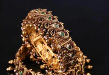 peaock nakshi gold bangles