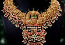balaji guttapusalu necklace