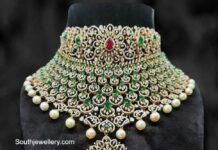 bridal grand diamond choker suraj bhan