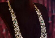 diaond emerald long haram pmj