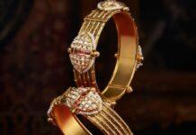 gold bangles manubhai