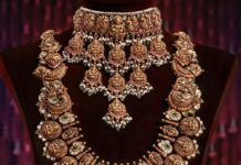 lakshmi nakshi choker and haram