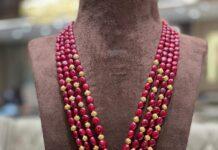 ruby beads long haram