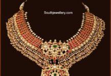 kundan pearl tussi necklace