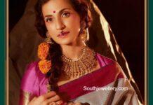 shilpa reddy in kundan jewellery